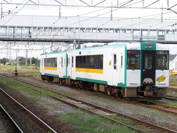 陸羽西線キハ110系200番台 キハ110-242+キハ110-243