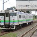 Photos: 函館線キハ40系 キハ40 802+キハ40 1806