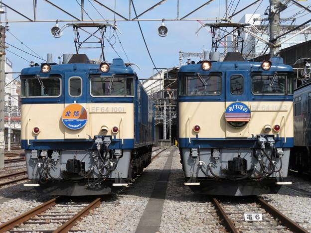 EF64 1001・EF64 1053 2並び