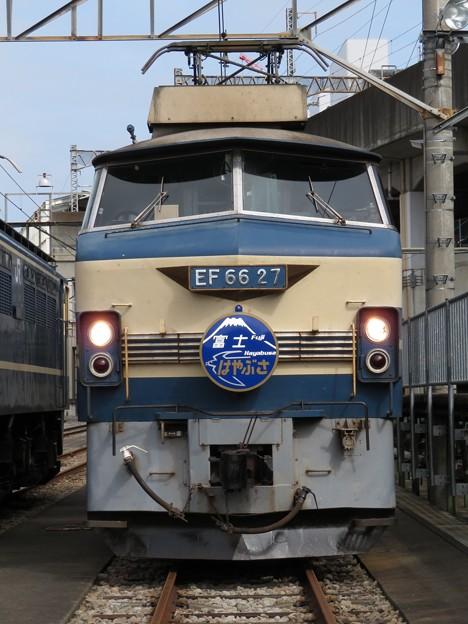 EF66 27【富士・はやぶさHM】