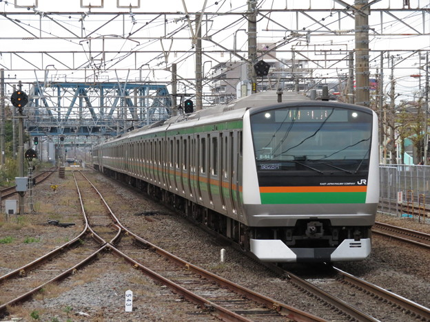 東海道線E233系3000番台 E-54+K-25編成