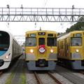 Photos: 西武38118F・2403F・2007F 3並び/1