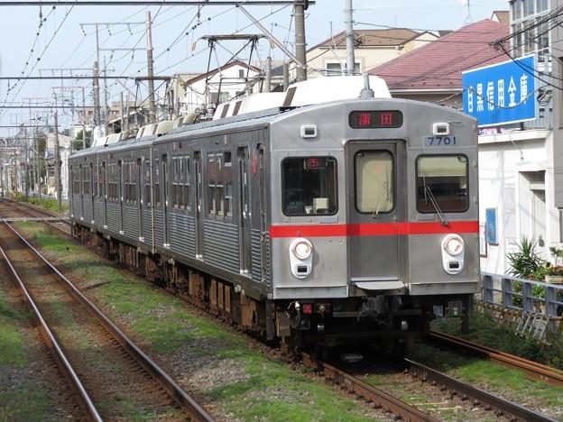 多摩川線7700系 7901F