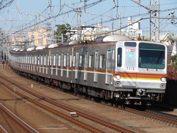 東京メトロ副都心線7000系 7113F