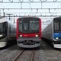東武502F・71701F・61603F 3並び