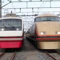Photos: 東武207F・103F 2並び