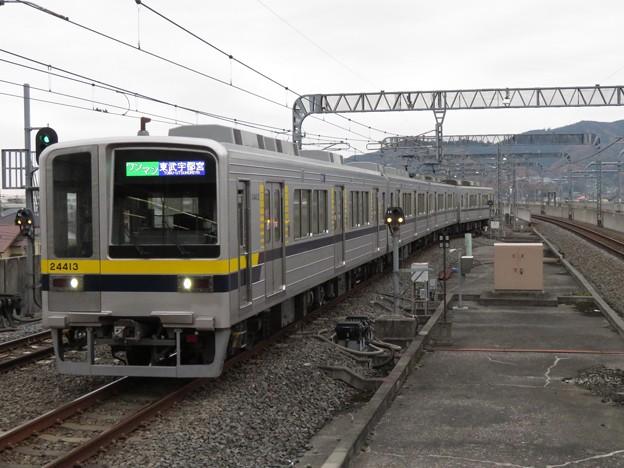 東武宇都宮線20400系 21413F