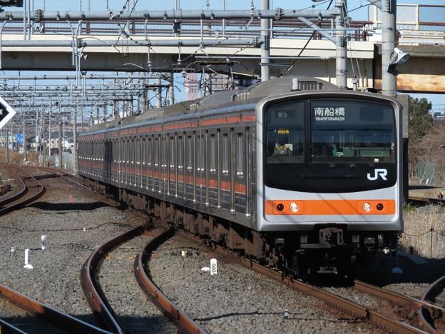 武蔵野線205系0番台 M64編成