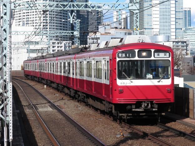 京急線800形 823F【リバイバルカラー】