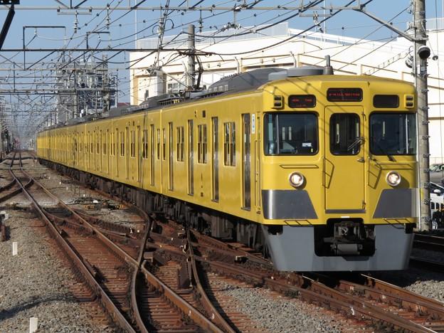 西武新宿線2000系 2003F