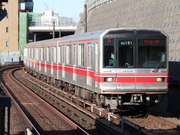 東京メトロ丸ノ内線02系 02-151F