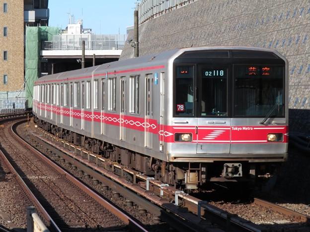 東京メトロ丸ノ内線02系 02-118F