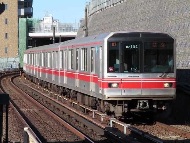 東京メトロ丸ノ内線02系 02-134F