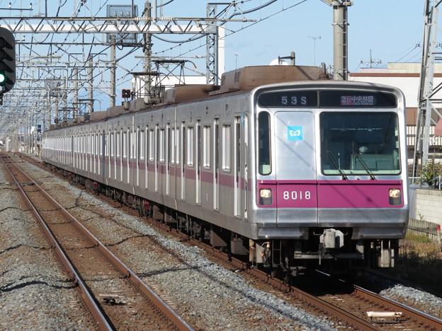 東京メトロ半蔵門線8000系 8118F