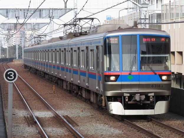 都営三田線6300形 6318F