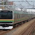 東海道線E231系1000番台 U-588+U55編成