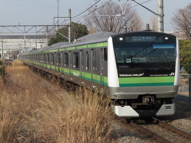 Photos: 横浜線E233系6000番台 H028編成