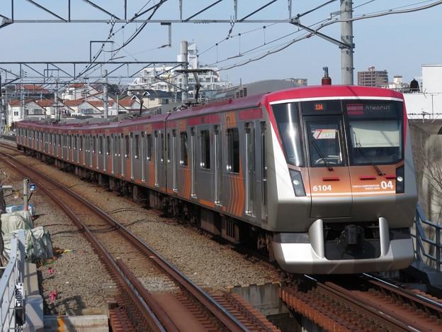 大井町線6000系 6104F