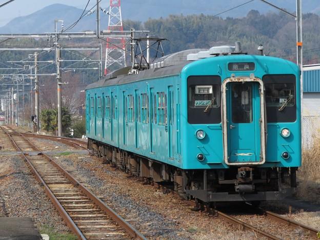 和歌山線105系 SW004編成
