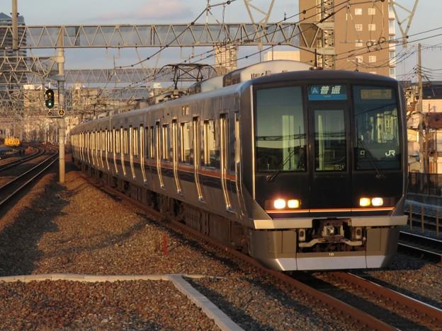 神戸線321系 D15編成