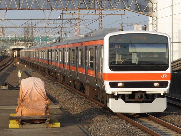 武蔵野線209系500番台 M83編成