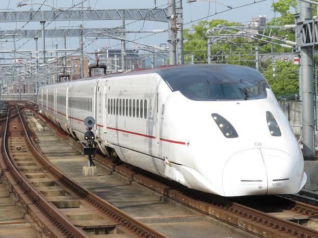 Photos: 九州新幹線800系 U001編成