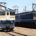 EF65 1102・EF65 2101 2並び/2