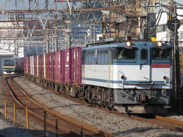 EF65-2083+コキ