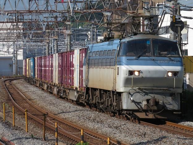 EF66 102+コキ