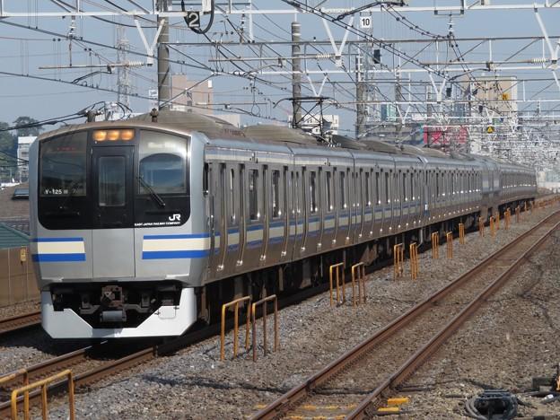 横須賀・総武快速線E217系 Y-125+Y-39編成