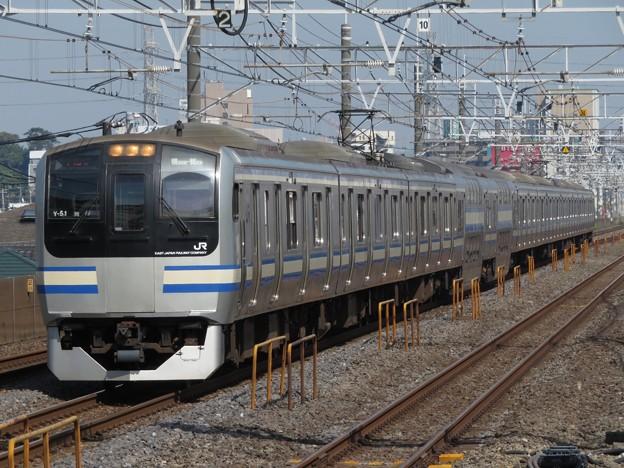 横須賀・総武快速線E217系 Y-51編成