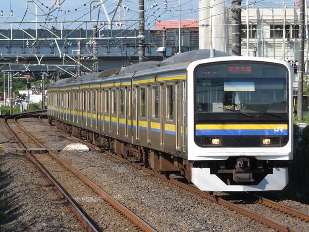 総武線209系2100番台 C626編成