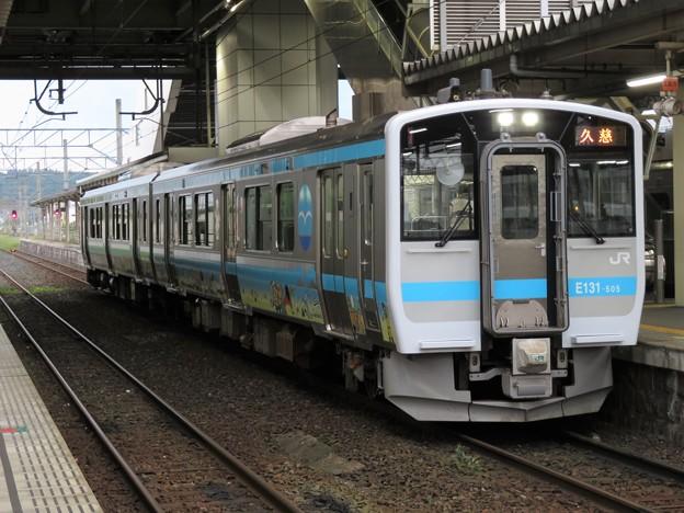 八戸線キハE130系500番台 キハE131-505編成