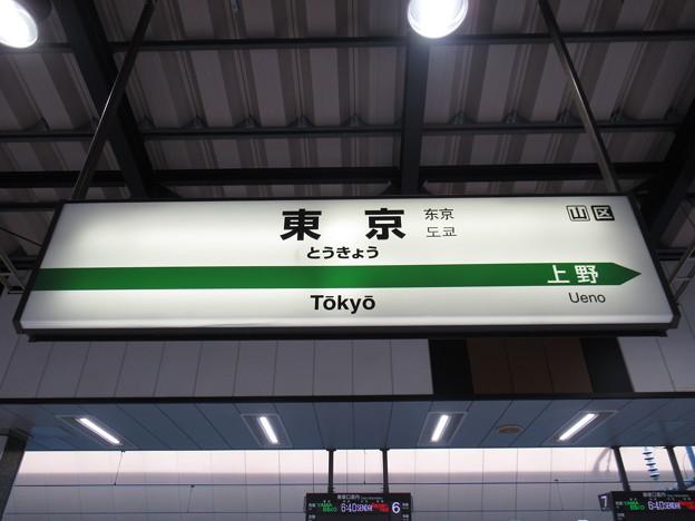 Photos: [新]東京駅 駅名標