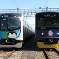 Photos: 西武40103F・20105F 2並び/1