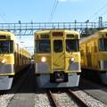 Photos: 西武2403F・2003F・2417F 3並び