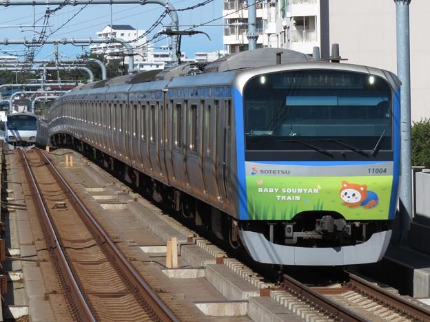 相鉄線11000系 11004F【六代目そうにゃんトレイン】