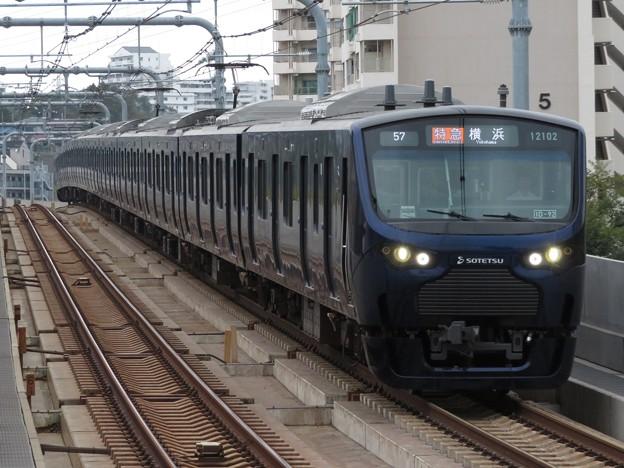 相鉄線12000系 12102F