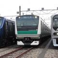 Photos: 相鉄12105F・E233系ハエ120編成・70-000形Z2編成 3並び