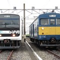 209系mue-train・クモヤ143-11 2並び