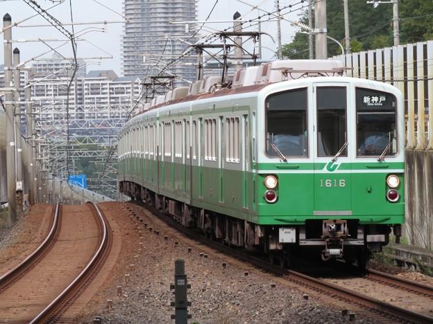 神戸市営西神・山手線1000形 1116F