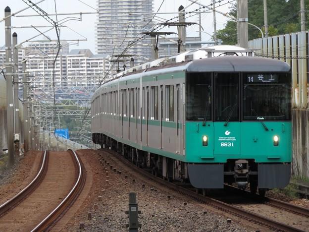 神戸市営西神・山手線6000形 6131F