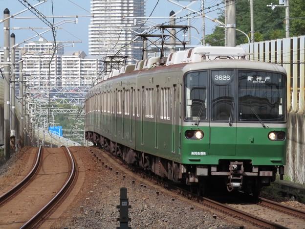 神戸市営西神・山手線3000形 3126F