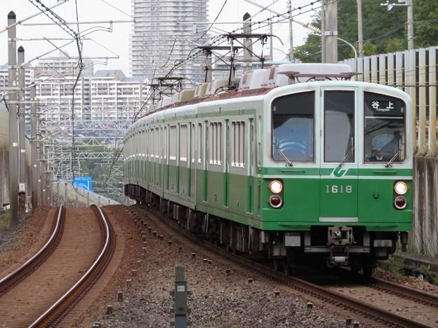 神戸市営西神・山手線1000形 1118F