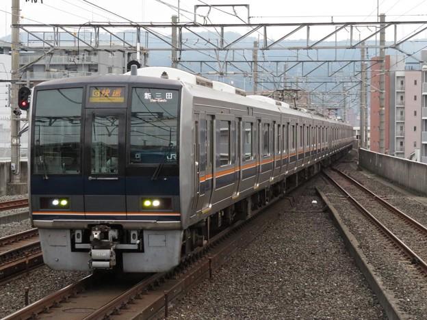 学研都市・東西線207系1000番台 S4+H5編成