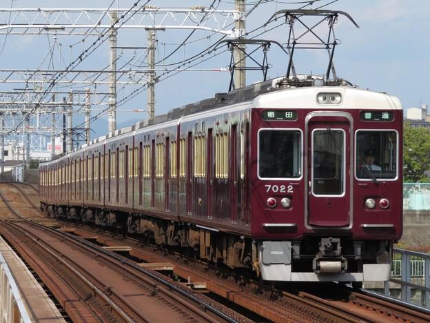 Photos: 阪急神戸線7000系 7022F