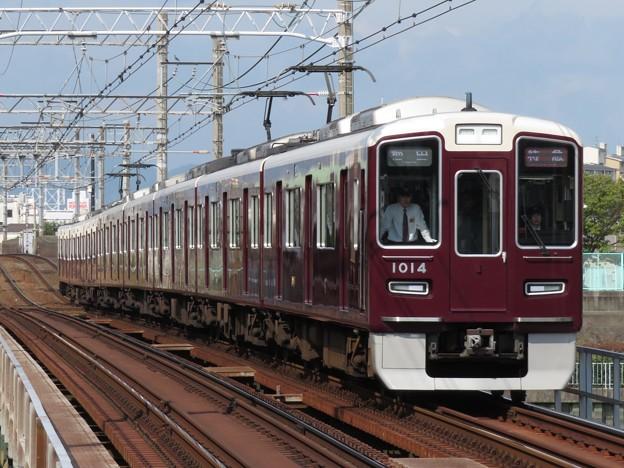阪急神戸線1000系 1014F