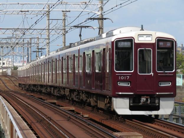 阪急神戸線1000系 1017F