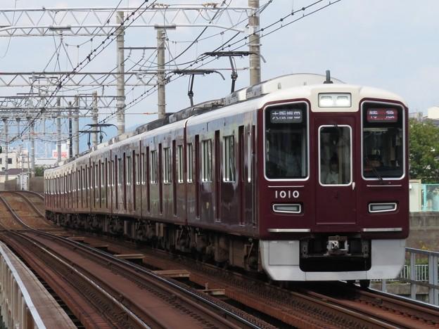 阪急神戸線1000系 1010F