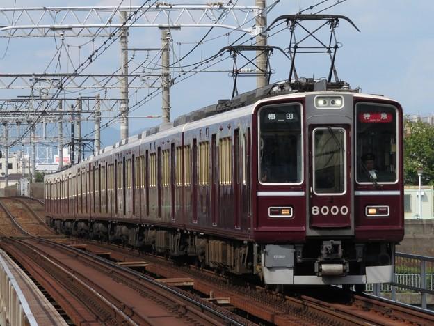 阪急神戸線8000系 8000F